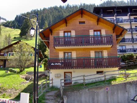 Wakacje w górach Apartament 3 pokojowy 6 osób - Chalet les Chablis - Châtel - Na zewnątrz latem