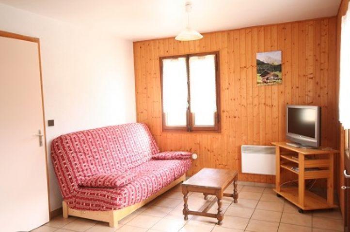 Wakacje w górach Apartament 3 pokojowy 6 osób - Chalet les Chablis - Châtel - Pokój gościnny