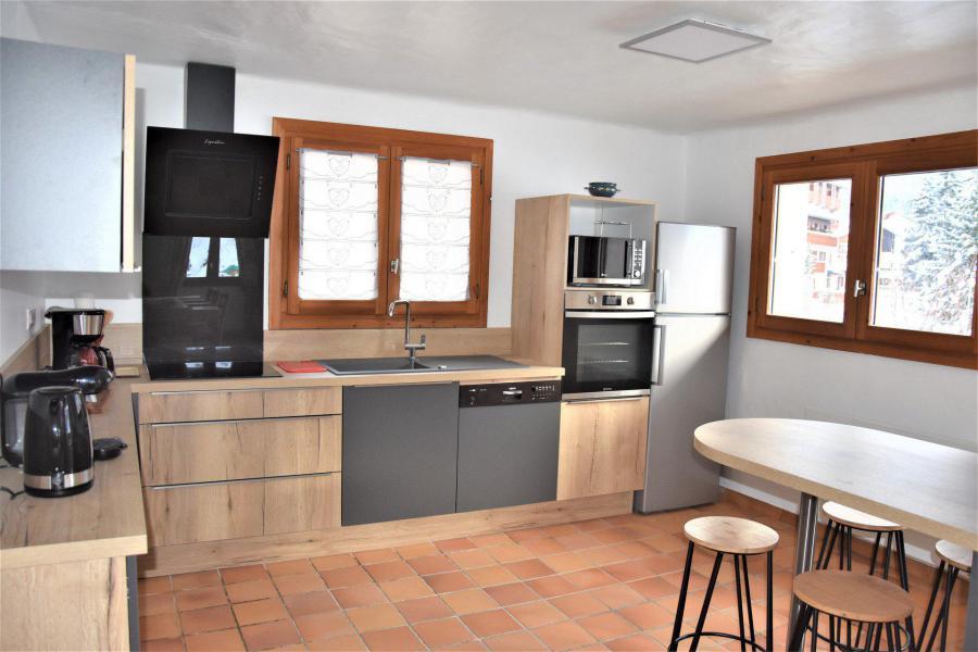 Vacaciones en montaña Apartamento dúplex 5 piezas 8 personas (CLARINES) - Chalet les Clarines - Pralognan-la-Vanoise - Kitchenette