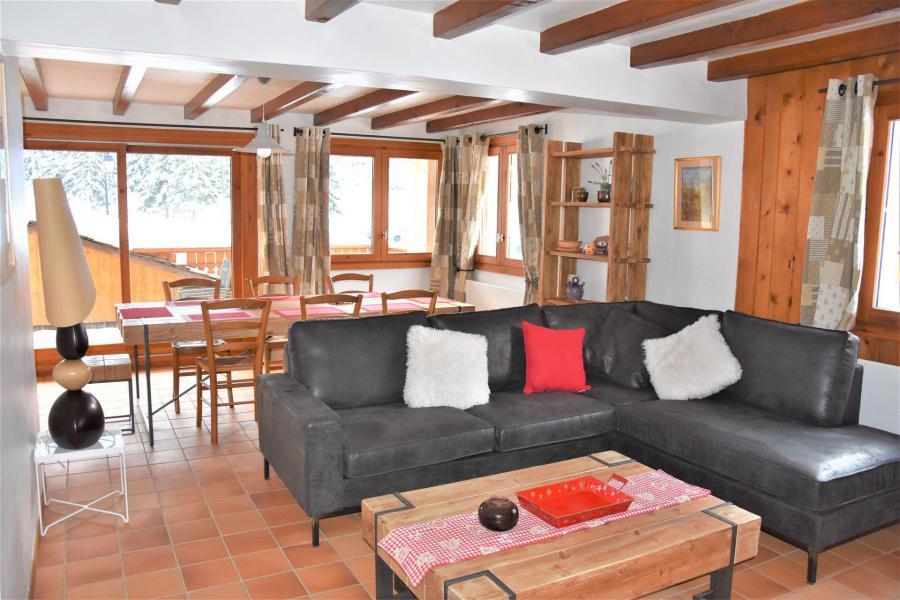 Vacaciones en montaña Apartamento dúplex 5 piezas 8 personas (CLARINES) - Chalet les Clarines - Pralognan-la-Vanoise - Sofá
