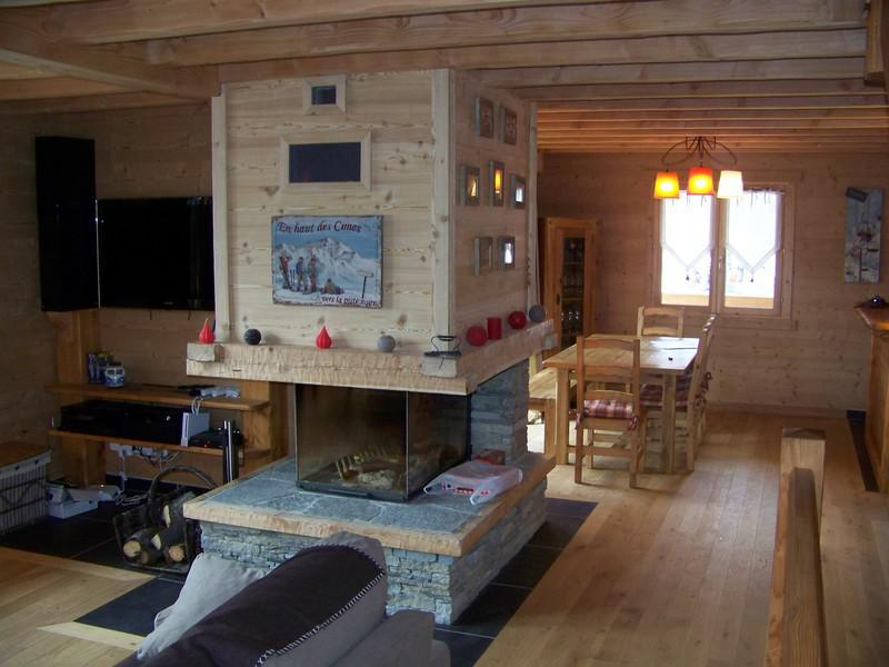 Vacanze in montagna Chalet les Clarines - Serre Chevalier - Soggiorno