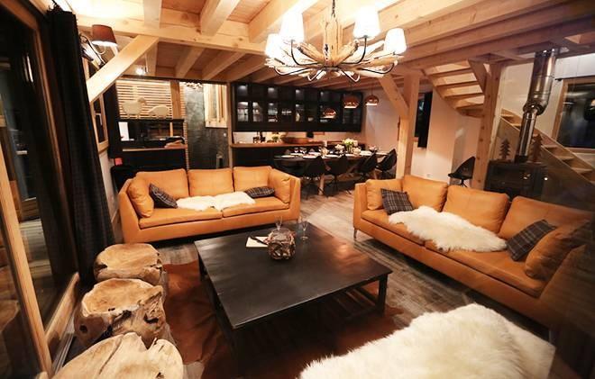Wakacje w górach Chalet les Clots - Valloire - Pokój gościnny
