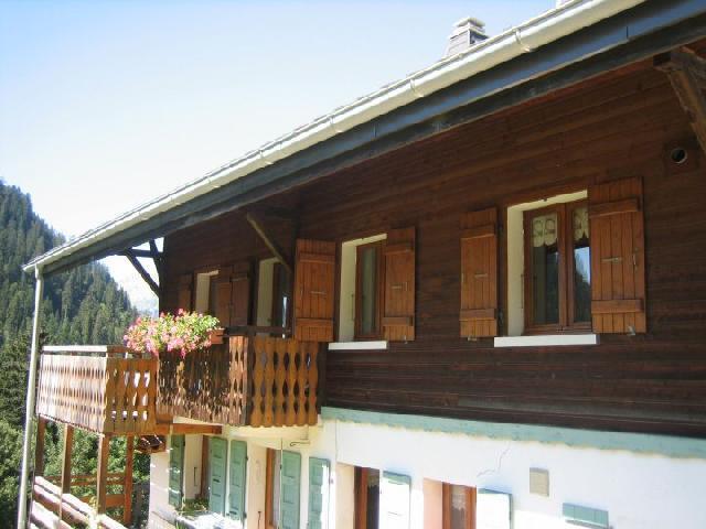 Vacaciones en montaña Apartamento 3 piezas para 5 personas (001) - Chalet les Colombes - Châtel - Verano