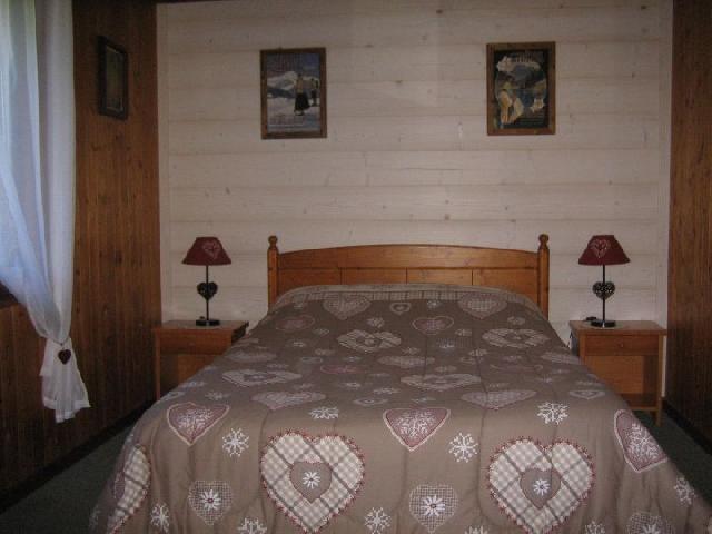 Vacaciones en montaña Apartamento 3 piezas para 5 personas (001) - Chalet les Colombes - Châtel - Cama doble
