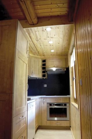Vacaciones en montaña Apartamento 3 piezas para 5 personas (001) - Chalet les Colombes - Châtel - Cocina