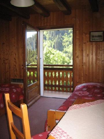 Vacaciones en montaña Apartamento 3 piezas para 5 personas (001) - Chalet les Colombes - Châtel - Mesa