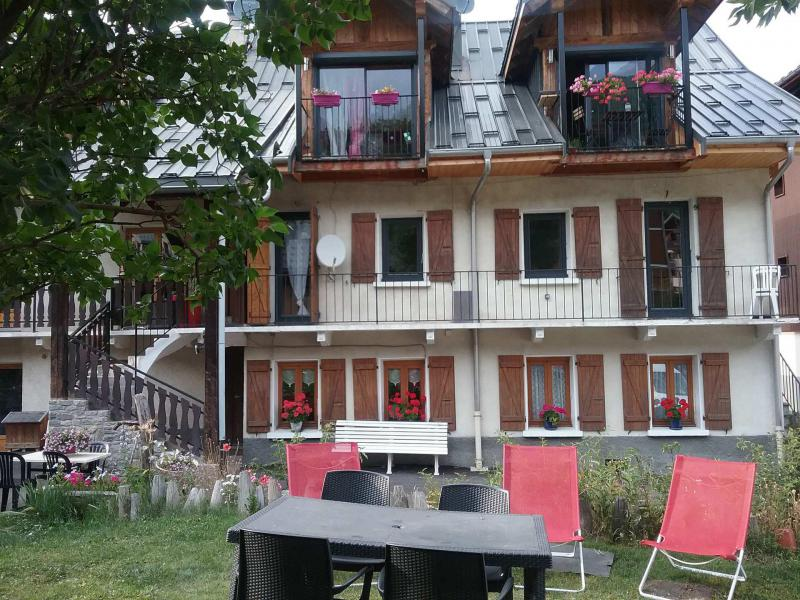 Аренда на лыжном курорте Апартаменты 3 комнат 6 чел. (3) - Chalet les Ecrins - Valloire - летом под открытым небом