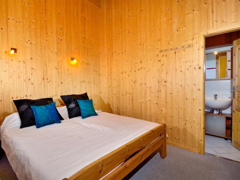 Vacances en montagne Chalet les Etoiles - La Tzoumaz - Chambre