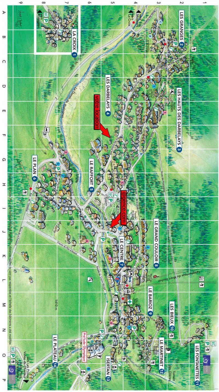 Wakacje w górach Chalet les Gentianes Bleues - Pralognan-la-Vanoise - Plan