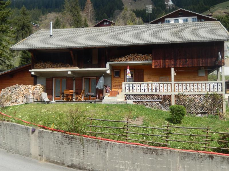 Vacaciones en montaña Apartamento 2 piezas para 4 personas - Chalet les Géraniums - Châtel