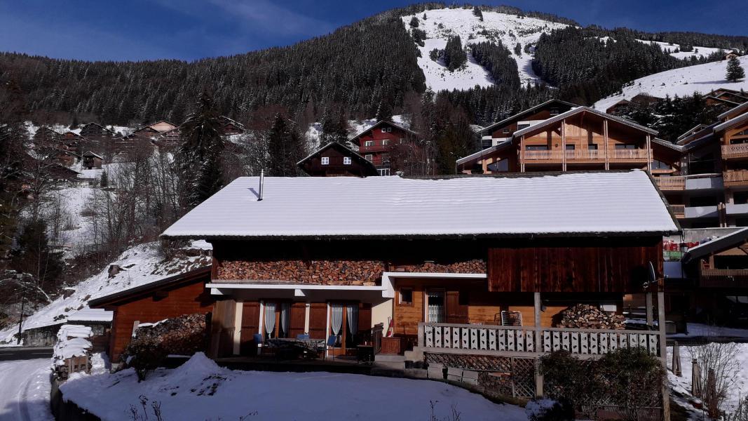 Wakacje w górach Apartament 2 pokojowy 4 osób - Chalet les Géraniums - Châtel