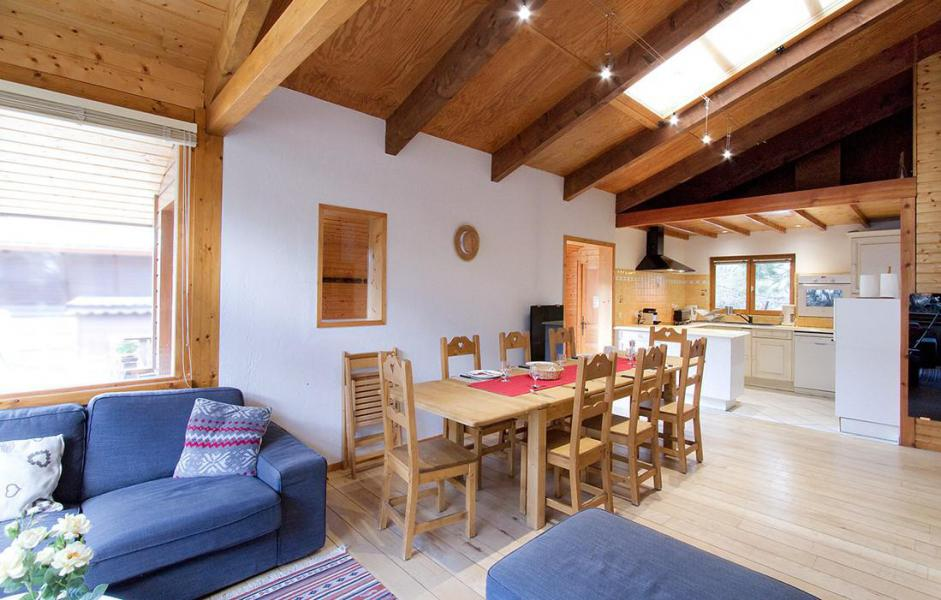 Vacanze in montagna Chalet les Jonquilles - Les 2 Alpes - Soggiorno