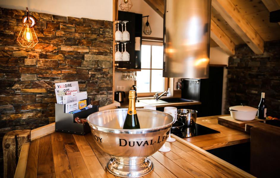 Wakacje w górach Chalet Les Lions Blancs - Valloire - Kuchnia