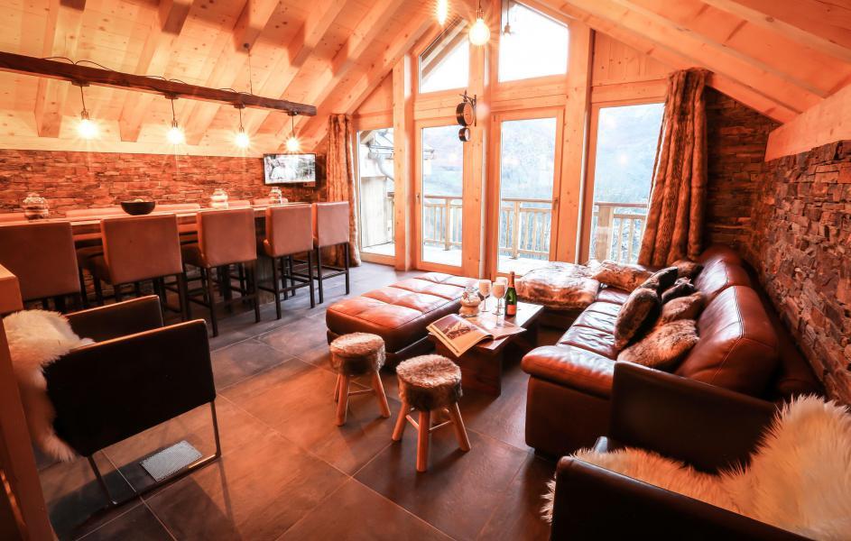 Wakacje w górach Chalet Les Lions Blancs - Valloire - Pokój gościnny