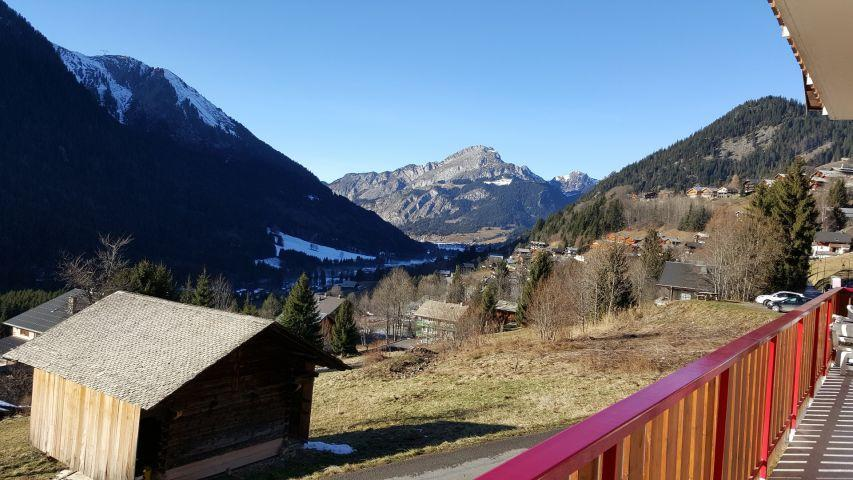Vacaciones en montaña Apartamento 4 piezas para 8 personas (002) - Chalet les Pensées - Châtel - Verano