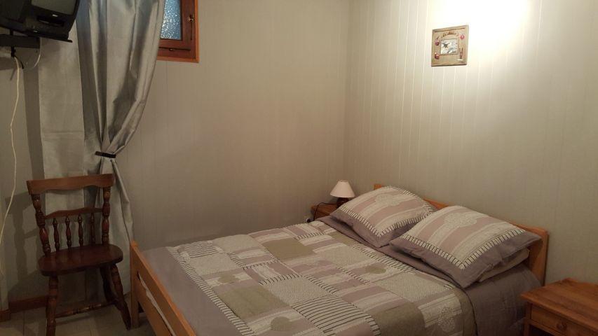 Vacaciones en montaña Apartamento 4 piezas para 8 personas (002) - Chalet les Pensées - Châtel - Cama doble