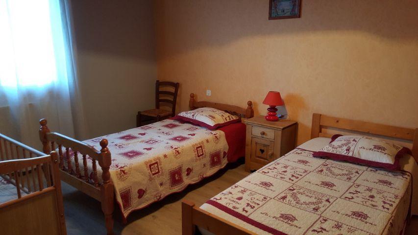 Vacaciones en montaña Apartamento 4 piezas para 8 personas (002) - Chalet les Pensées - Châtel - Cama individual
