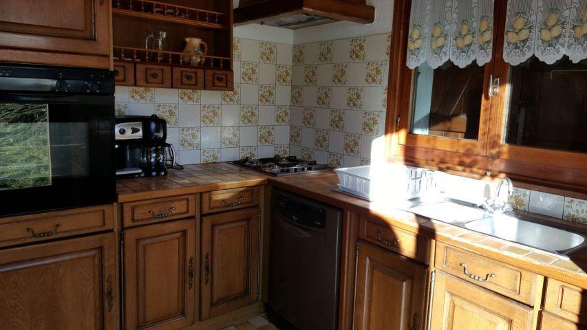 Vacaciones en montaña Apartamento 4 piezas para 8 personas (002) - Chalet les Pensées - Châtel - Cocina