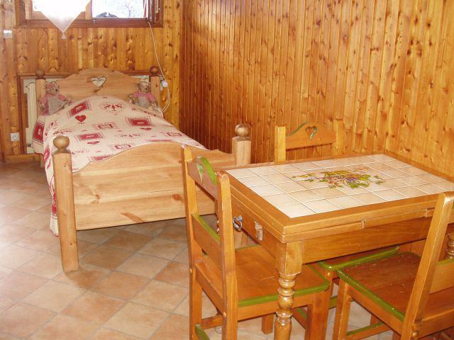 Vacaciones en montaña Estudio para 3 personas (003) - Chalet les Pensées - Châtel - Mesa