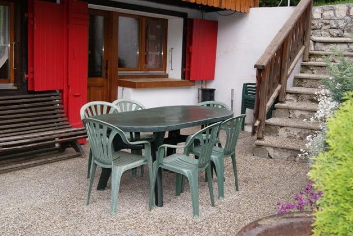Vacaciones en montaña Apartamento 5 piezas para 10 personas (000) - Chalet les Pivottes - Châtel - Verano