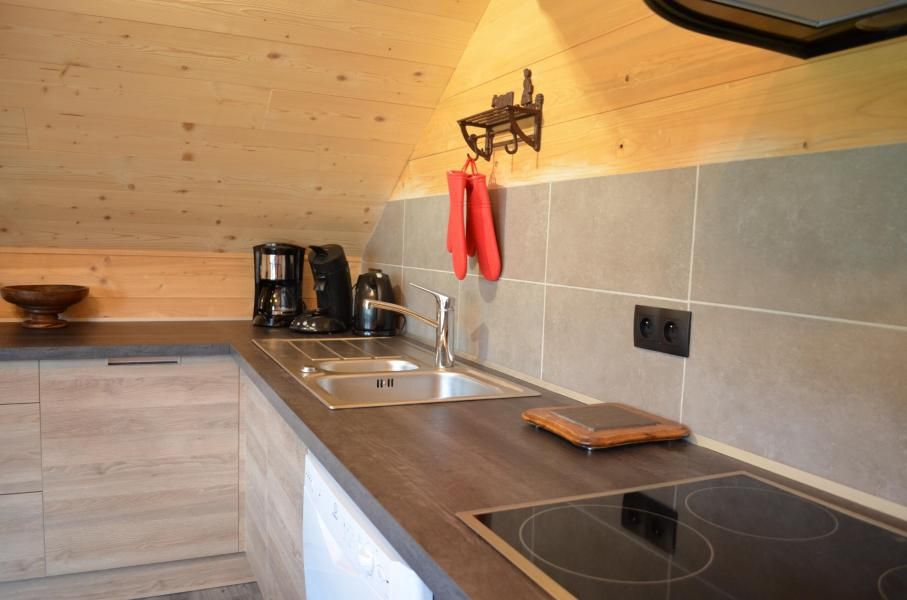 Vacaciones en montaña Apartamento 3 piezas para 5 personas (002) - Chalet les Pivottes - Châtel