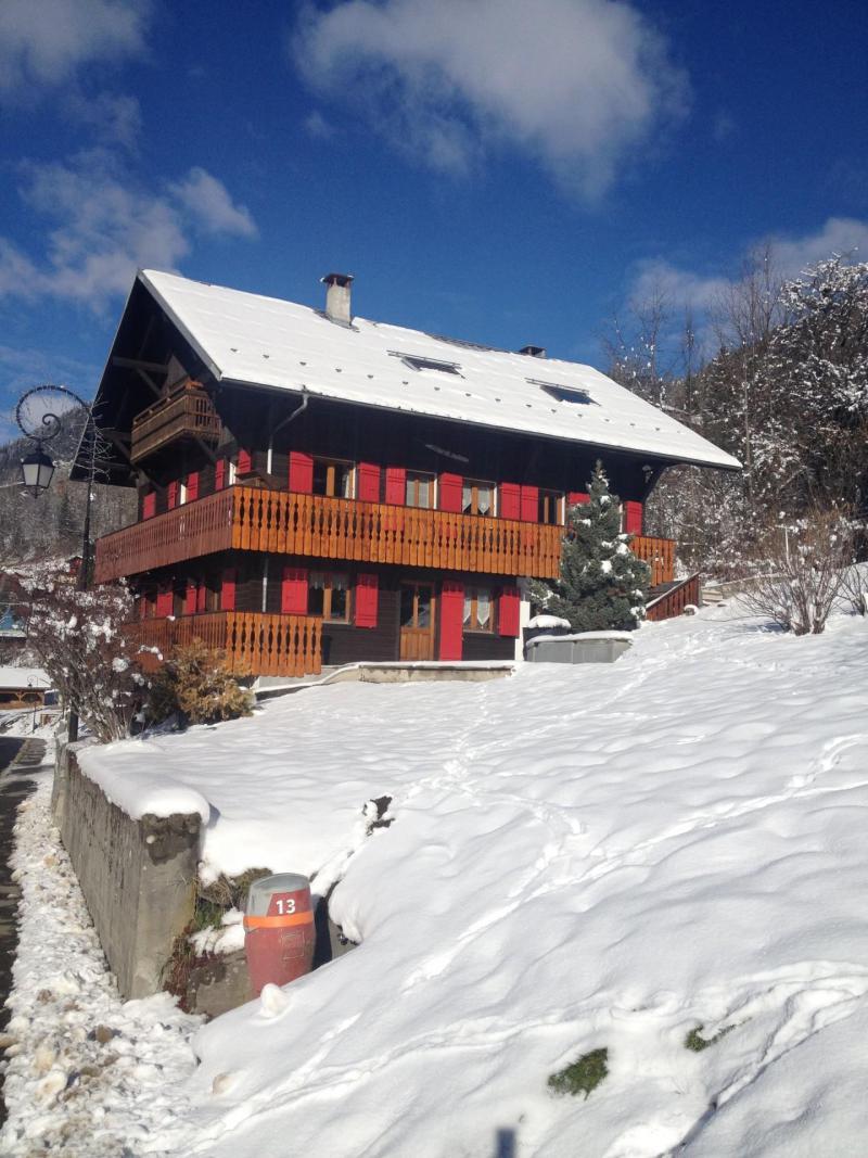 Vacaciones en montaña Chalet les Pivottes - Châtel