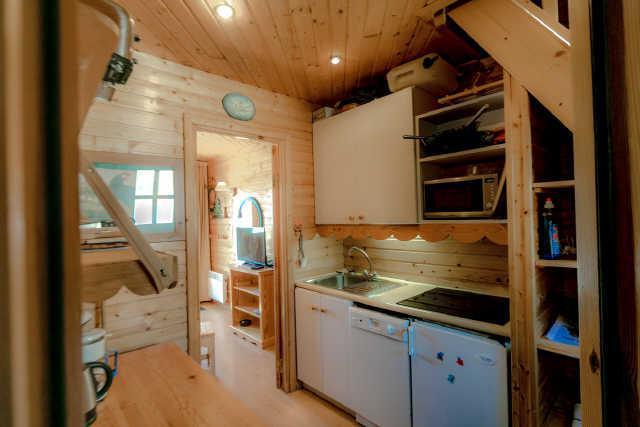 Vacaciones en montaña Apartamento 2 piezas mezzanine para 6 personas (17) - Chalet les Pléiades - Risoul