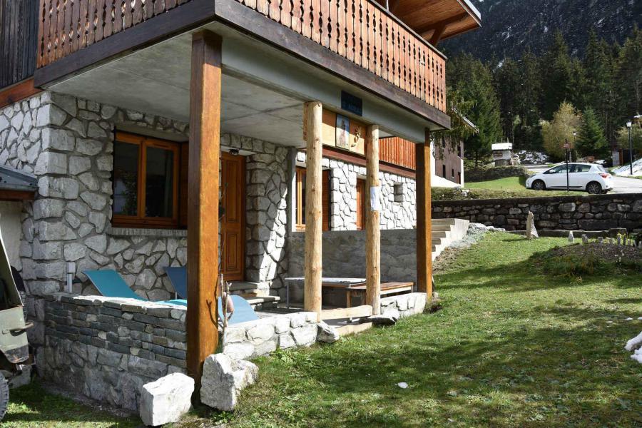 Wakacje w górach Apartament 3 pokojowy 3 osób (RAMEAUXRDJ) - Chalet les Rameaux - Pralognan-la-Vanoise - Na zewnątrz latem
