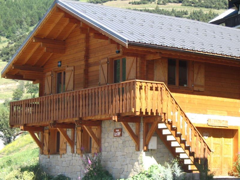 Vacanze in montagna Chalet les Sapins - Alpe d'Huez - Esteriore estate