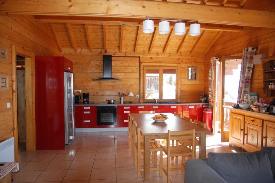 Vacanze in montagna Chalet les Sapins - Alpe d'Huez - Cucina aperta