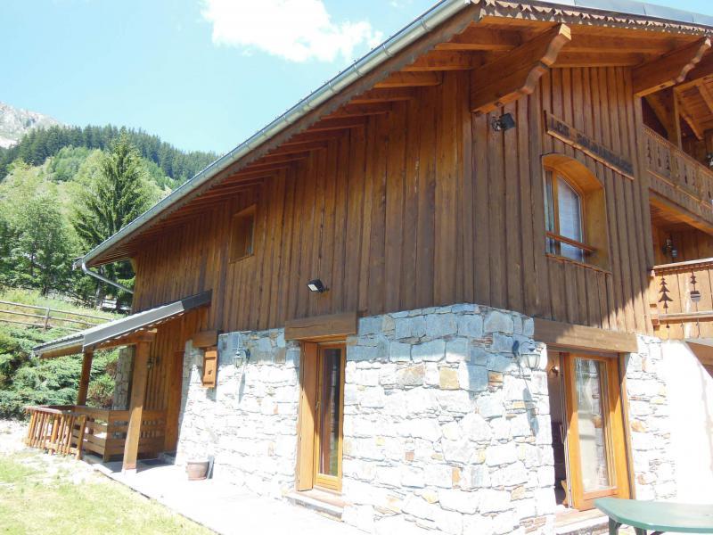 Vacances en montagne Chalet les Soldanelles - Champagny-en-Vanoise - Extérieur été