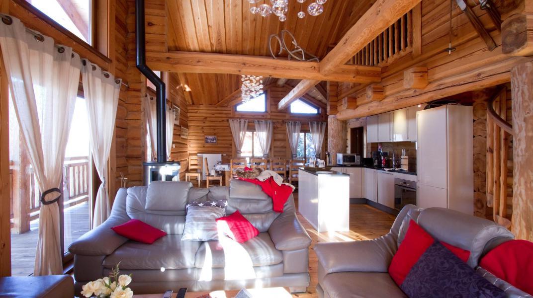 Wakacje w górach Chalet Leslie Alpen - Les 2 Alpes - Pokój gościnny