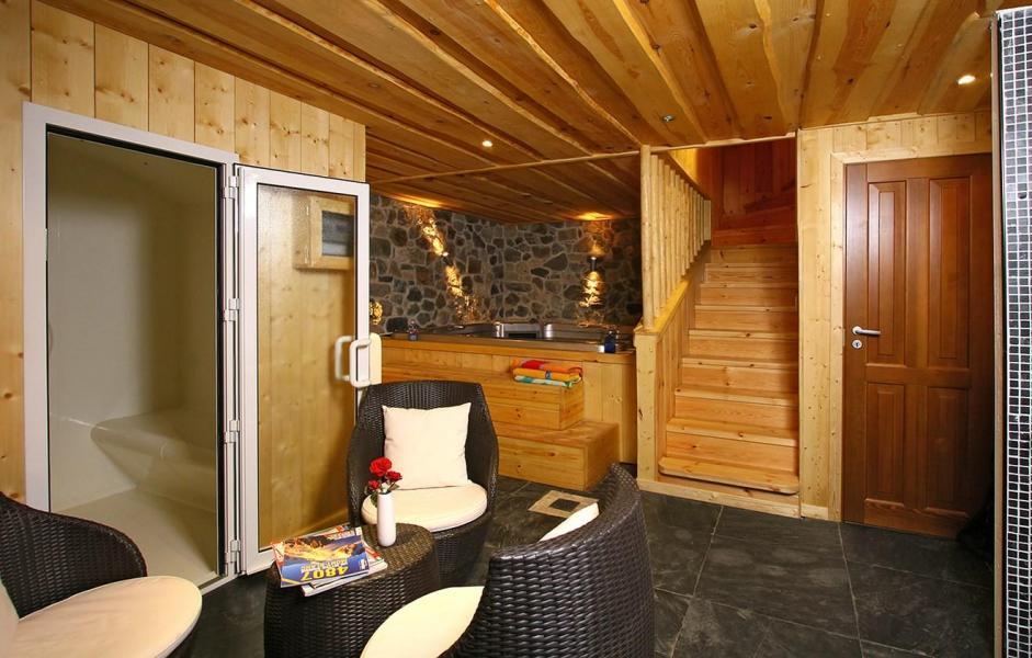 Vacances en montagne Chalet Leslie Alpen - Les 2 Alpes - Sauna