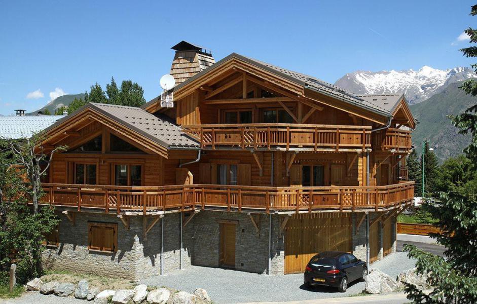 Vacances en montagne Chalet Levanna Occidentale - Les 2 Alpes - Extérieur été