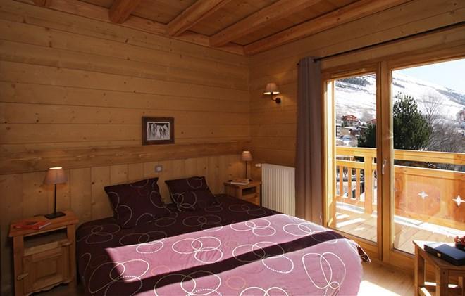 Vacances en montagne Chalet Levanna Occidentale - Les 2 Alpes - Chambre