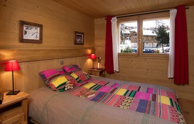 Urlaub in den Bergen Chalet Levanna Orientale - Les 2 Alpes - Doppelbett