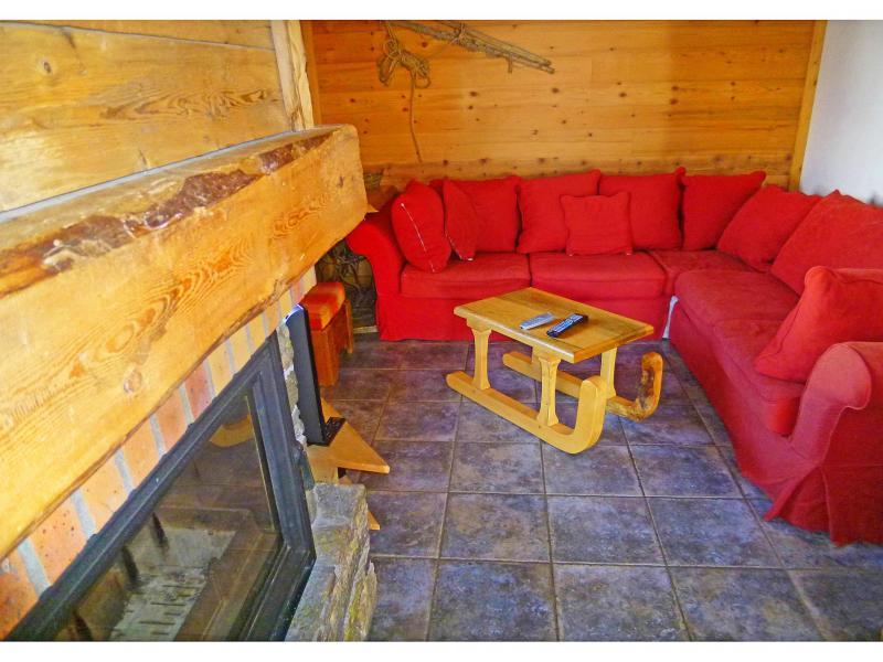Vacances en montagne Chalet Levassaix - Les Menuires - Séjour