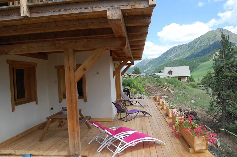 Vacaciones en montaña Apartamento cabina 2 piezas para 4 personas (Cosy Mountain) - Chalet Loan - Montgenèvre - Verano