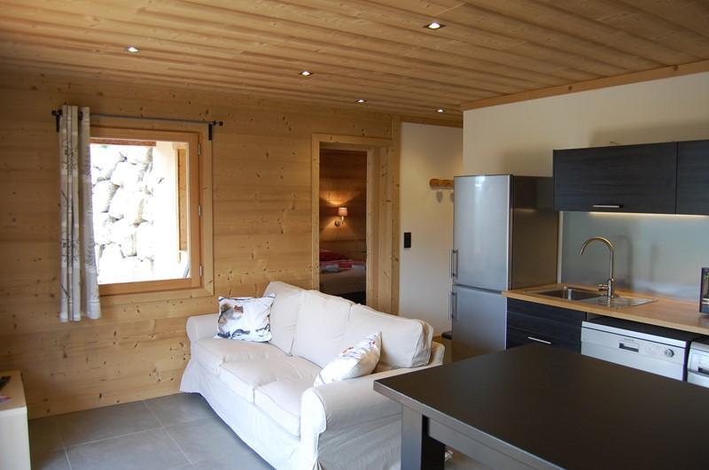 Vacaciones en montaña Apartamento cabina 2 piezas para 4 personas (Cosy Mountain) - Chalet Loan - Montgenèvre - Estancia