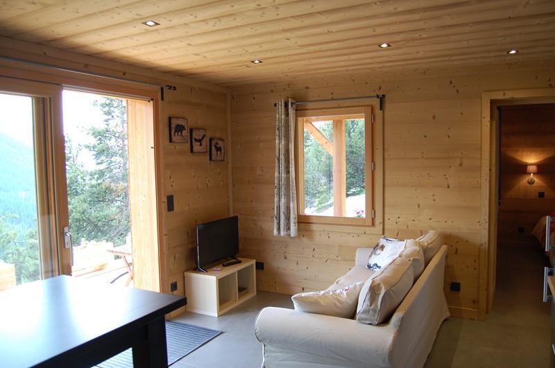 Vacaciones en montaña Apartamento cabina 2 piezas para 4 personas (Cosy Mountain) - Chalet Loan - Montgenèvre - Sofá