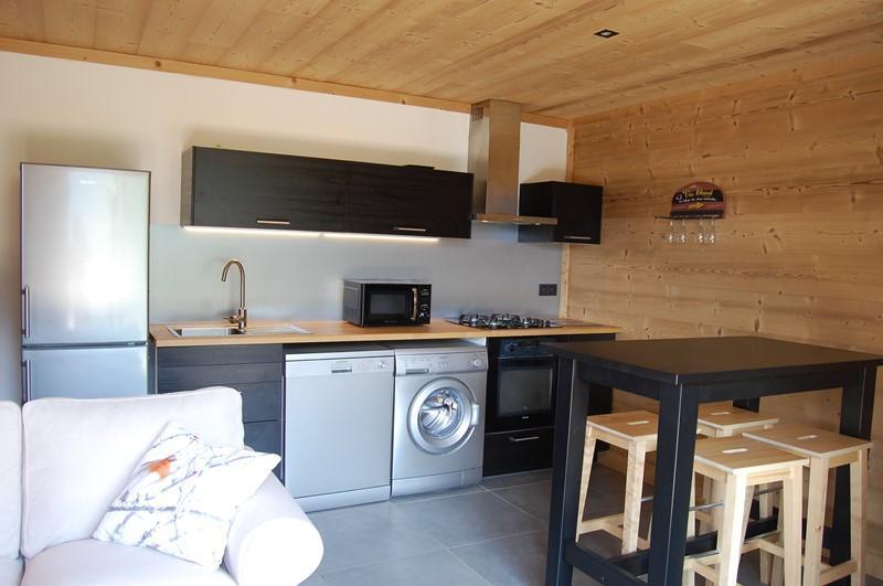 Vacances en montagne Appartement 2 pièces coin montagne 4 personnes (Cosy Mountain) - Chalet Loan - Montgenèvre - Séjour
