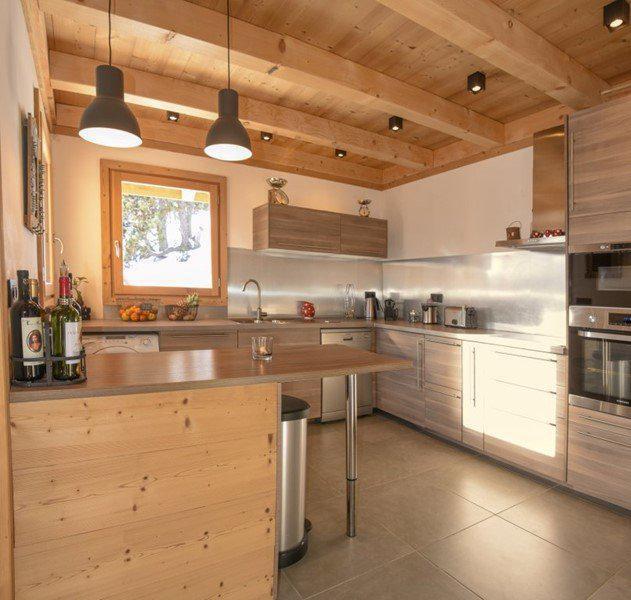 Vacances en montagne Chalet duplex 5 pièces 10 personnes - Chalet Loan - Montgenèvre - Cuisine