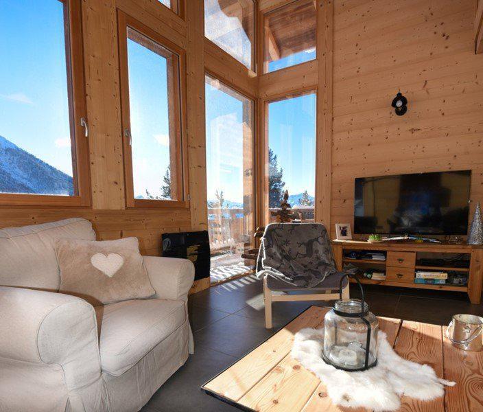 Vacances en montagne Chalet duplex 5 pièces 10 personnes - Chalet Loan - Montgenèvre - Séjour