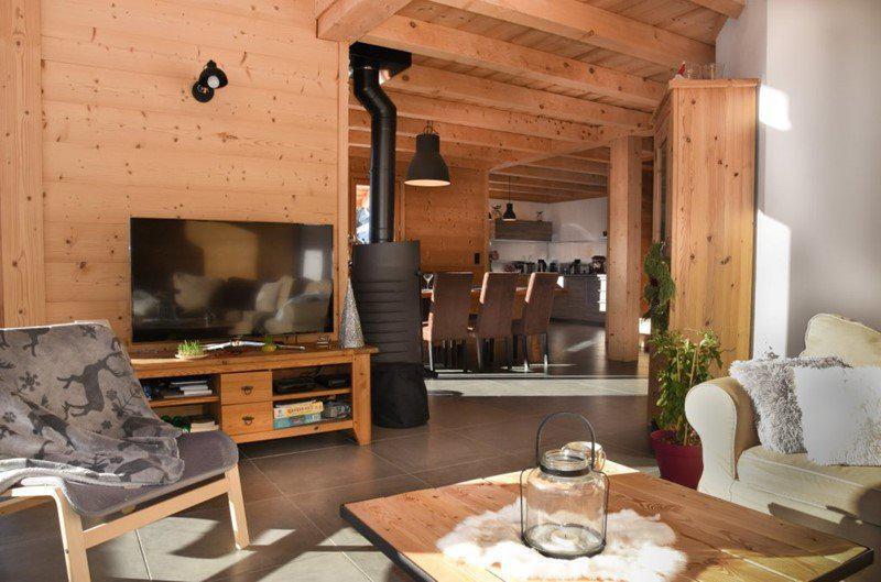 Vacances en montagne Chalet duplex 5 pièces 10 personnes - Chalet Loan - Montgenèvre - Tv