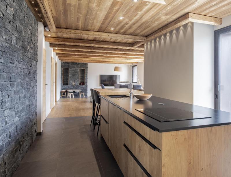 Wakacje w górach Chalet Lodge PureValley - Les Menuires - Kuchnia