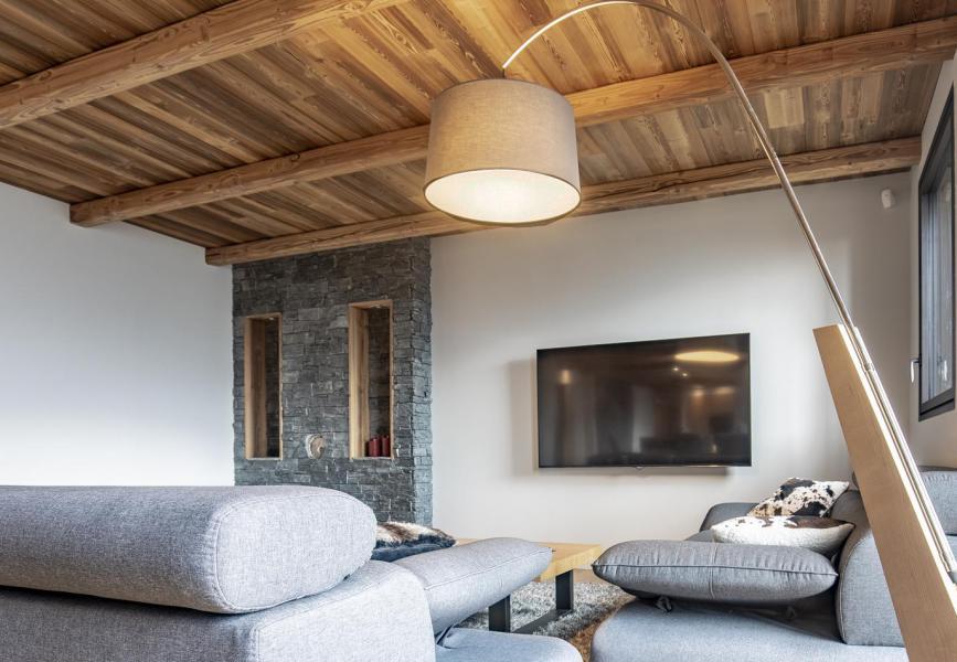 Wakacje w górach Chalet Lodge PureValley - Les Menuires - Pokój gościnny