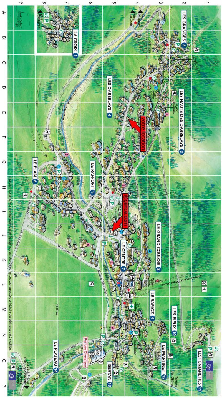 Wakacje w górach Chalet Lou Fenatchu - Pralognan-la-Vanoise - Plan