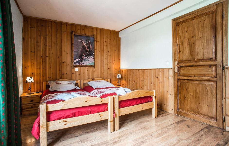 Vacaciones en montaña Chalet Loutantin - Saint Martin de Belleville - Camas twin