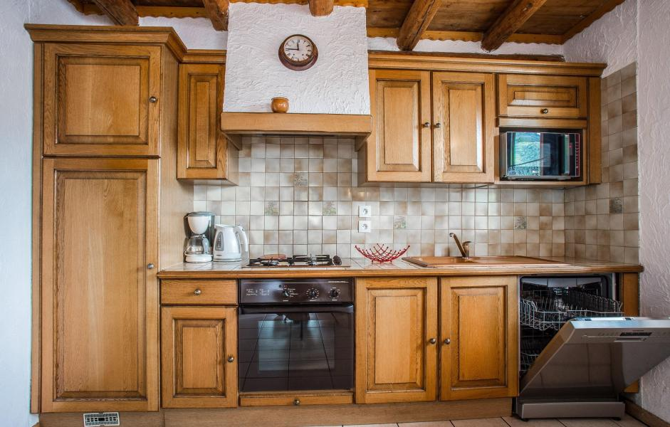 Vacaciones en montaña Chalet Loutantin - Saint Martin de Belleville - Cocina abierta