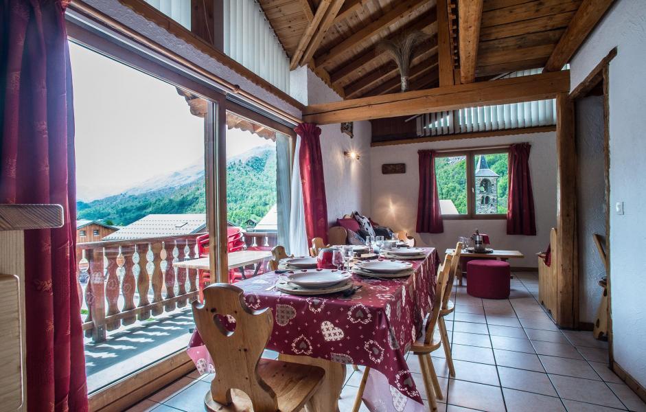 Vacances en montagne Chalet Loutantin - Saint Martin de Belleville - Table